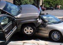 Автомобиль после ДТП