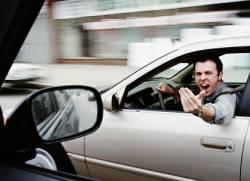 Хамство під час водіння автомобіля